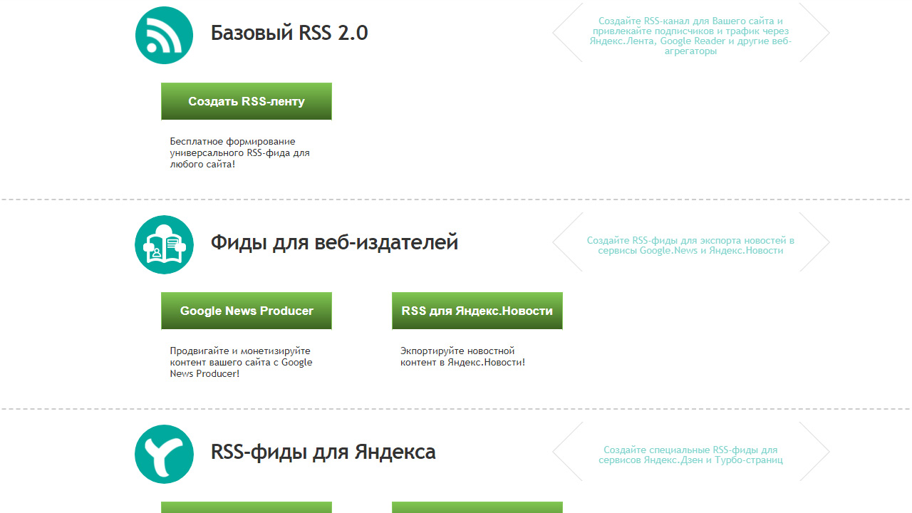 Сделать rss с сайта как заработать раскруткой сайтов